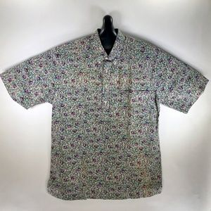 Tori Richard Vintage Mens Aloha Hawaiian Shirt Med